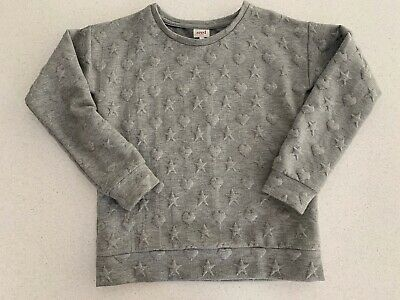 GIRLS SEED GREY STAR/HEART WINCHEATER - Size 10 - Excellent Condition - Bargain!