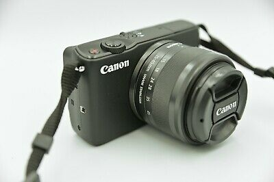 CANON Mirrorless EOS M10 EF-M15-45 IS STM 18mp Camera and Lens Kit + Extras!