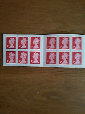 New Royal Mail Stamps Book of 12 x First 1st Class Stamps