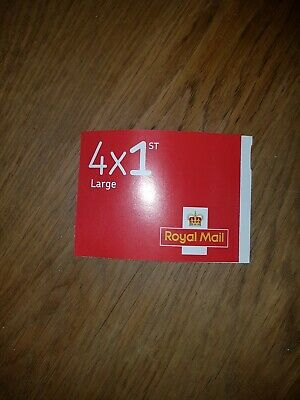 New Royal Mail Stamps Book of 4 x First 1st Class Large
