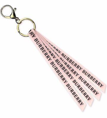 Burberry Her Pink & Gold BURBERRY Print Womens Keychain/Keyring 100% Genuine NEW