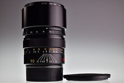 LEICA SUMMICRON M 90mm f/2 Excellent