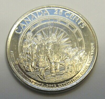 2013 CANADA 100th ANNIVERSARY ARCTIC EXPEDITION QUARTER -  combined shipping
