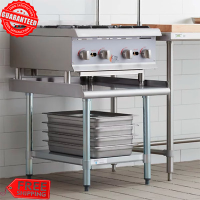 """30"""" x 24"""" Stainless Steel Table Commercial Mixer Grill Heavy Equipment Stand New"""