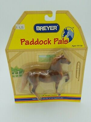 Breyer Horse Paddock Pals 1636 Morgan Chestnut NEW