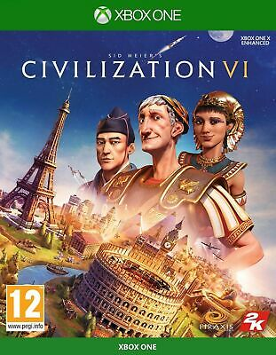 Civilization VI 6 Xbox One NEW SEALED DISPATCHING TODAY ALL BY 2 P.M.