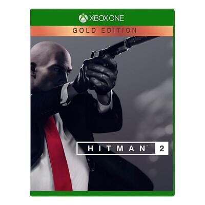 Hitman 2 Gold Edition Xbox One NEW DISPATCHING TODAY BY 2 P.M.