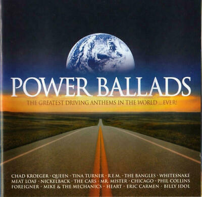 Power Ballads The Greatest Driving Anthems In The World..Ever! (2CD) - Very Good
