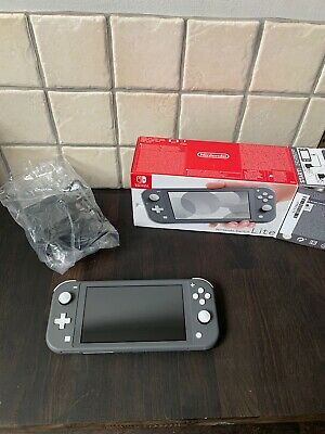 Nintendo Switch Lite Grey Working With Box & Charger