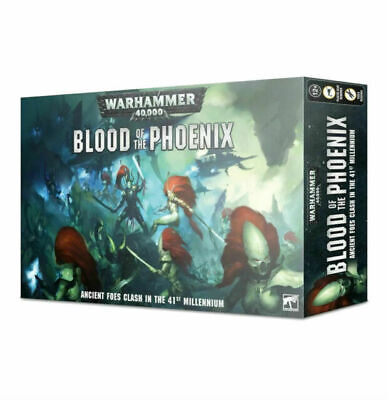 Warhammer 40000 Blood of the Phoenix  (New Sealed)