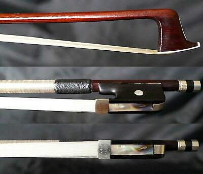 NICE! ORIG Antique French Pernambuco Violin Bow Brugere a Paris ( J.A.VIGNERON )