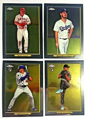 2020 Topps Series 1 Turkey Red Chrome U Pick Trout Lux Bellinger RC SP Insert