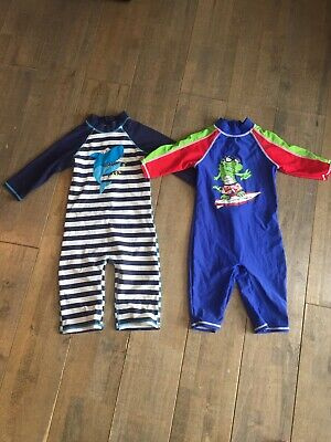 Boys Sun Protection Swim Suits Wetsuits Size 4-5 Years