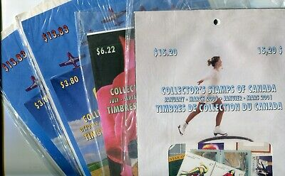 Large lot of Canada postage new in Post Office packaging.Face: $239.20 Save $45