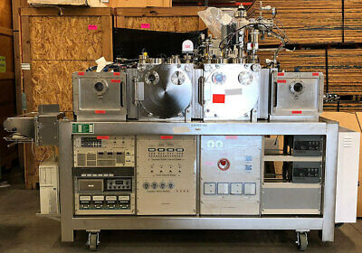 "VACNET RC4 RF Auto-Sputter 4"" Dual Target Load Lock Automatic Sputtering System"