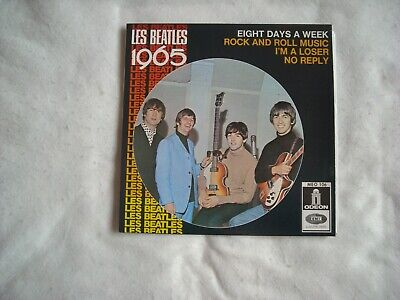 45T Les Beatles 1965 .Meo 106. Eight Days A Week /Rock And Roll Music. Neuf