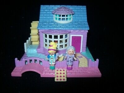 EUC 100% Complete Vintage Polly Pocket Grandma's Cottage 1994 (RARE VARIATION)