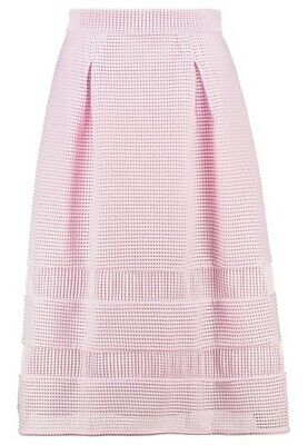 Warehouse coord pink top and A-line skirt 16 really flattering. set