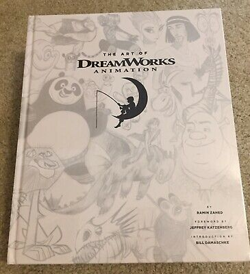 BOOK The Art Of Dreamworks Animation By Ramin Zahed NEW-wrapped in Plastic