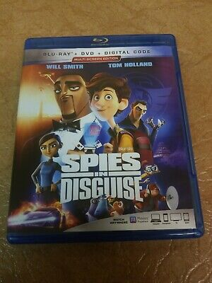 Spies In Disguise (Blu-ray + DVD)