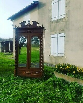 Fabulous Antique French Armoire,Chateau Louis XIII Style Wardrobe