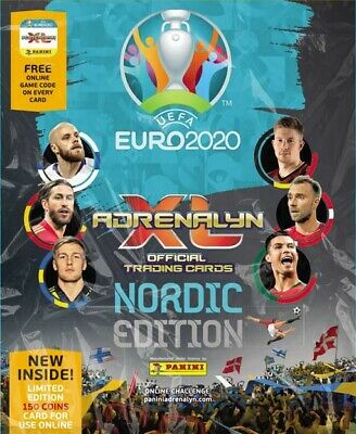 Panini Adrenalyn Euro 2020: Choose Your Card (Rare, Fans, Power-Up, Nordic...)