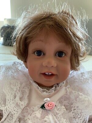 """Pat Secrist Doll Weighted Doll """"Giggles"""". Adorable."""