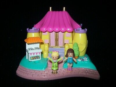 EUC 100% Vintage Polly Pocket Bouncy Castle 1996 (ULTRA RARE)