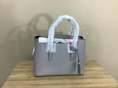 Kate Spade Margaux Large Pebbled Leather Top Zip Satchel True Taupe Gold NWT