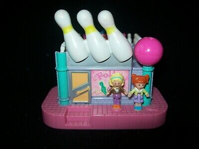 EUC 100% Vintage Polly Pocket Bowling Alley 1996 (ULTRA RARE)