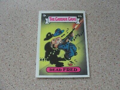 The Garbage Gang series 2 (AUS series) 57B DEAD FRED