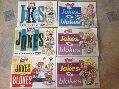 Jokes for Blokes Books People with Pix #2,#3,#4,#5, 2x#6. 6 books