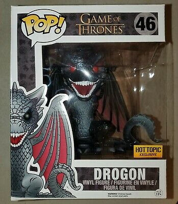 Funko Pop! Game Of Thrones Drogon #46  Hot Topic Exclusive