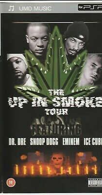 Psp UMD Movie - The Up in Smoke Tour