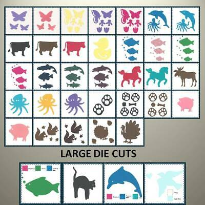 Creative Memories ANIMAL THEME DIE CUTS - VARIETY TO CHOOSE - UP TO 30% OFF!!!