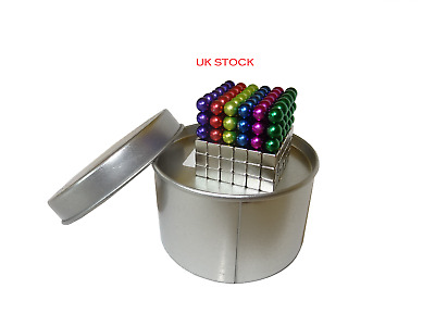 UK Stock, fast delivery. 216 magnetic balls And cubes 5mm each