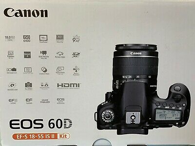 Canon EOS 60D  mit EF- S 18-55 IS II