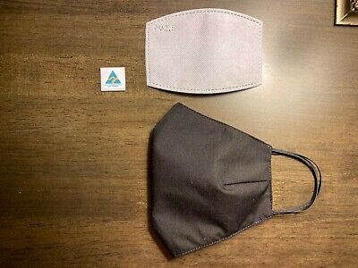Homemade Top Quality Fabric Face Mask Pocket Adult FREE Activated Carbon Filter