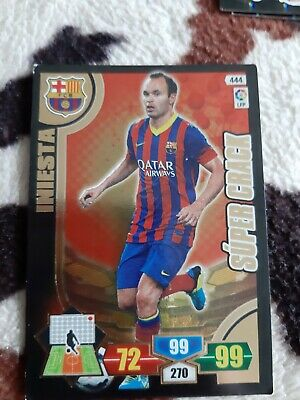 Iniesta Adrenalyn Liga 2013-14 supercrack