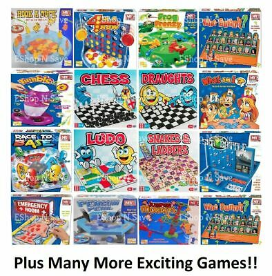 TRADITIONAL CLASSIC MODERN BOARD GAMES FULL SIZE Family Childrens Kids FUN