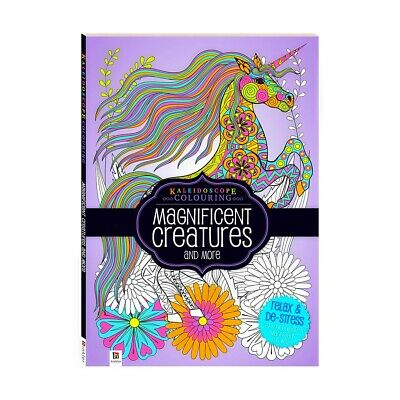 Magnificent Creatures Mindfulness Meditation Colouring Book-Craft Kits-De Stress