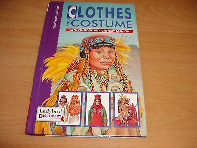 Clothes And Costumes Ladybird Book With Foldout 16Th Century Fashion Elizabethan