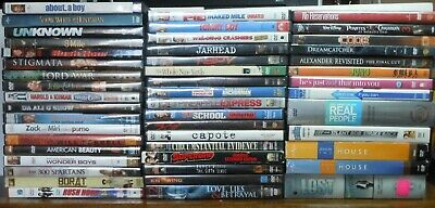 DVDs! - LOT 48 THRILLER, DRAMA, TV SERIES  AND COMEDY TITLES