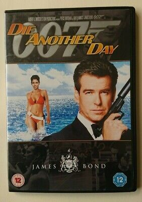 Die Another Day DVD - Pierce Brosnan - James Bond 007 Cert 12