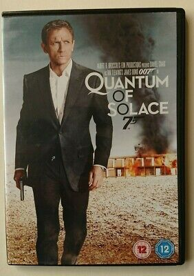 Quantum of Solace DVD - Daniel Craig - James Bond 007 Cert 12