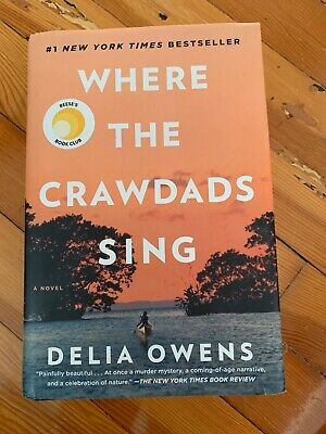 Where the Crawdads Sing by Delia Owens (Hardcover,2018) LIKE NEW