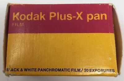 Kodak Plus-X Pan 35mm Film B&W Prints ISO 125 ASA PX 135-20 Ex 12/84 NEW Vintage