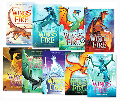 tui t sutherland wings of fire series 1-10 BY Venezuela (E-B0K&AUDI0B00K||E-MAIL