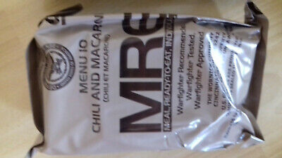 US army Military MRE Meal Ready to Eat 02/2022 Menu 10