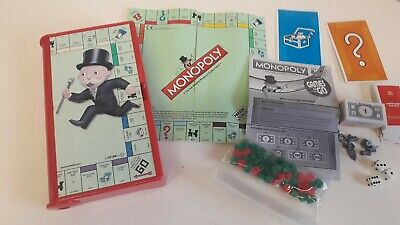 Hasbro Travel Monopoly Complete In Case With Instructions
